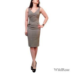 Michael Kors Collection Starlet Glen Plaid Dress 6